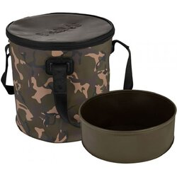 Fox Aquos Camolite Bucket and Insert 12 L