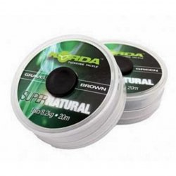 Korda Super Natural Gravel Vorfachmaterial 18lb