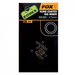 Fox  Edges Kuro Coated Rig Rings 3,7mm