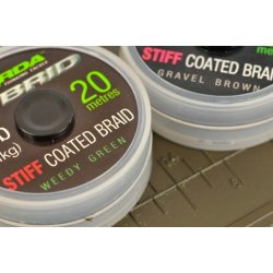 Korda Hybrid Stiff Coated Braid 20lb Weed Green