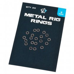 Nash Metal Rig Rings 2,5mm