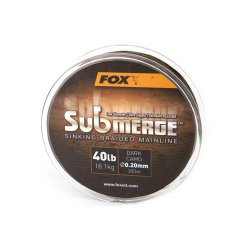 Fox Submerge Sinking Braided Mainline 300m 40lb 18,1 kg...