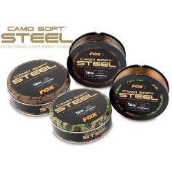 Fox Camo Soft Steel dark Camo 0.331mm 16lb/7.27kg