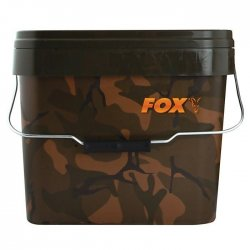 Fox Camo Square Bucket - Eimer 10 Liter