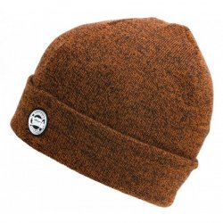 Fox Chunck Beanie Hats Orange/Black Marl