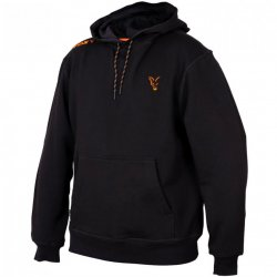 Fox Collection Black & Orange Hoodie Gr. S