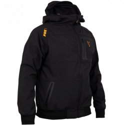 Fox Collection Black & Orange Shell Hoodie