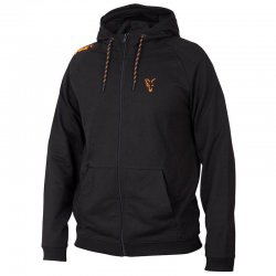 Fox Collection Black & Orange LW Hoodie