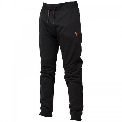 Fox Collection Black & Orange Lightweight Joggers Gr. L