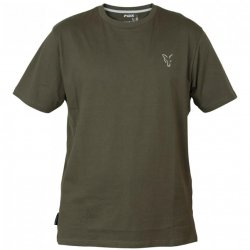 Fox Collection Green & Silver T-Shirt Small
