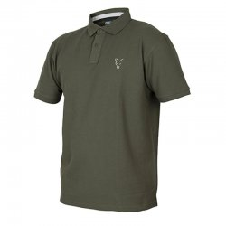 Fox Collection Green & Silver Polo Shirt