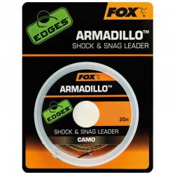 Fox Edges Armadillo Camo Shock & Snag Leader 30lb - 13,6Kg
