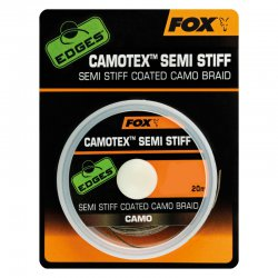 Fox Edges Camotex Semi Stiff Camo 25lb - 11,3Kg