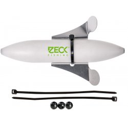 Zeck Fishing Propeller U-Float Solid White