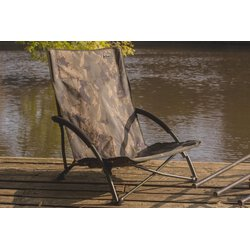 Solar Undercover Camo Foldable Easy Chair Low
