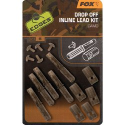 Fox Edges Camo Drop Off Inline Lead Kits