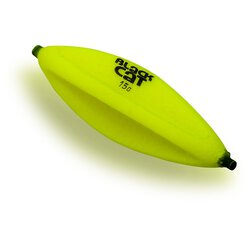 Black Cat Darter U-Float neon gelb